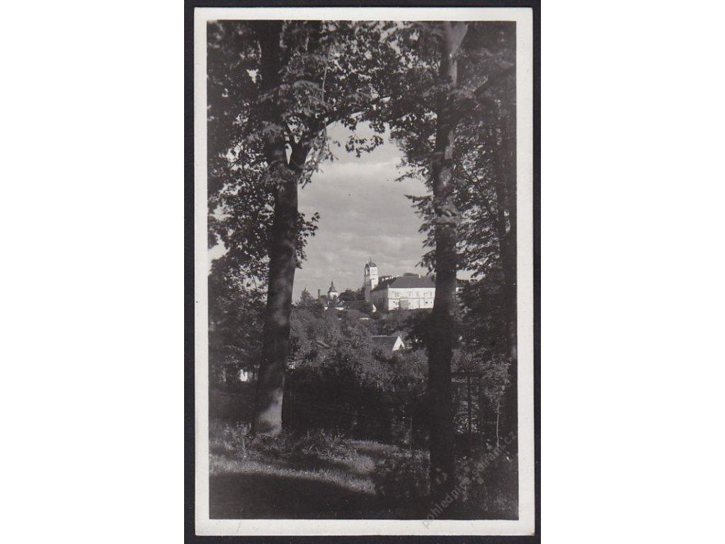 01 - Benešovsko, zámek Vlašim, grafo Čuda, cca 1935