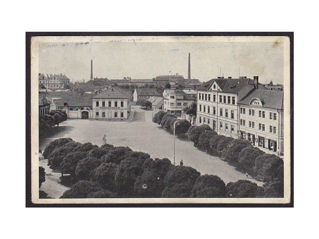 33 - Litoměřicko, Bohušovice nad Ohří, náměstí, cca 1935