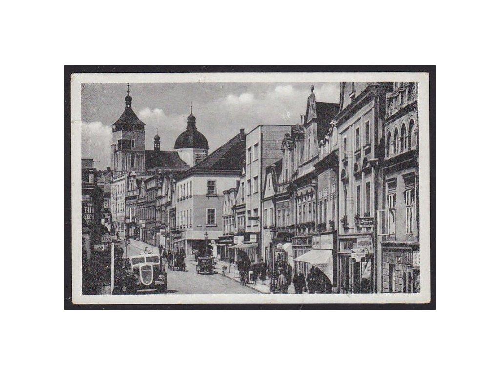17 - Havlíčkův Brod, uvnitř města, foto Švec, cca 1940