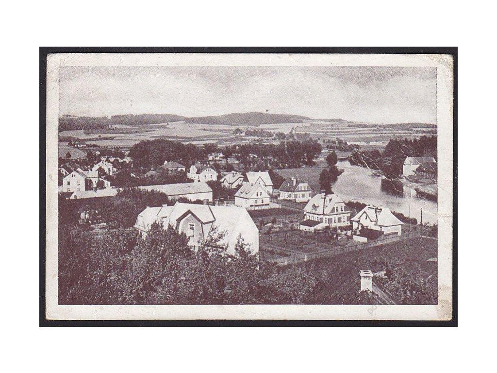 17 - Havlíčkobrodsko, Světlá nad Sázavou (Swietla ob der Sasau), fototypia, cca 1940
