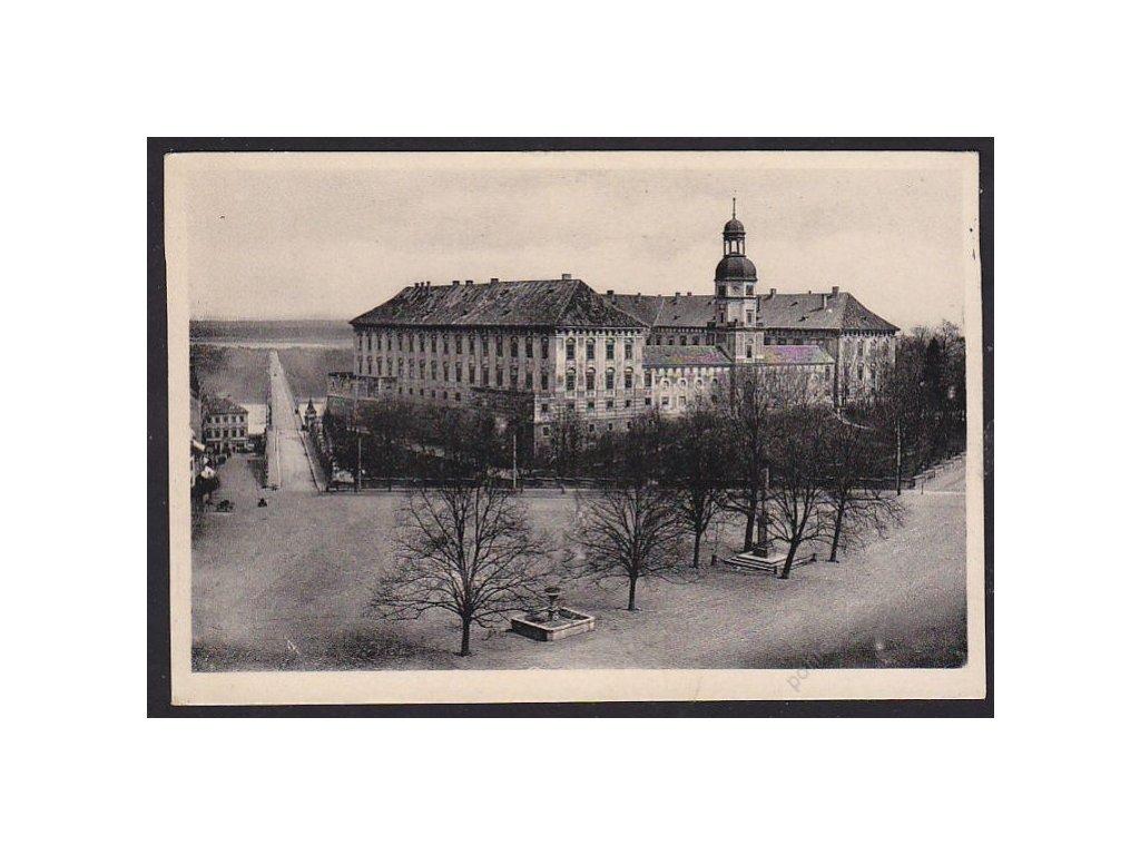 33 - Litoměřice, Roudnice nad Labem, zámek (Raudnitz an der Elbe, Schloß), cca 1940