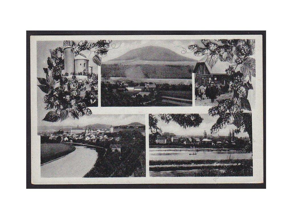 33 - Litoměřice, Roudnice nad Labem, Říp, cca 1940
