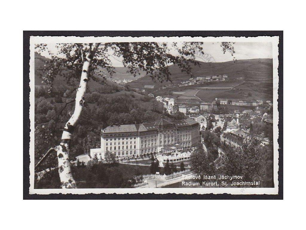 25 - Karlovarsko, lázně Jáchymoc, cca 1937
