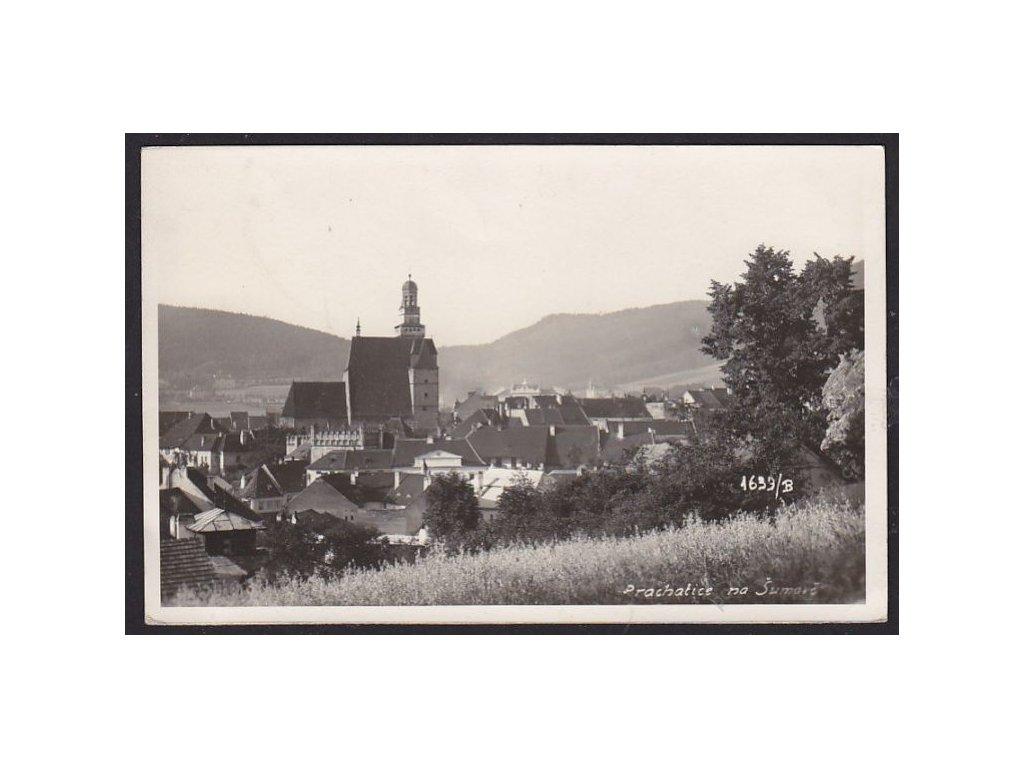 48 - Prachatice na Šumavě, foto Seidel, cca 1934