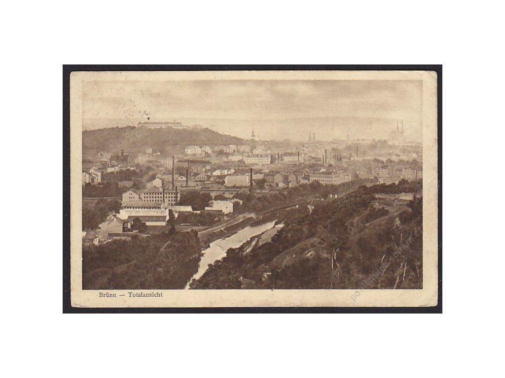 04 - Brno-město (Brünn), celkový pohled, cca 1914
