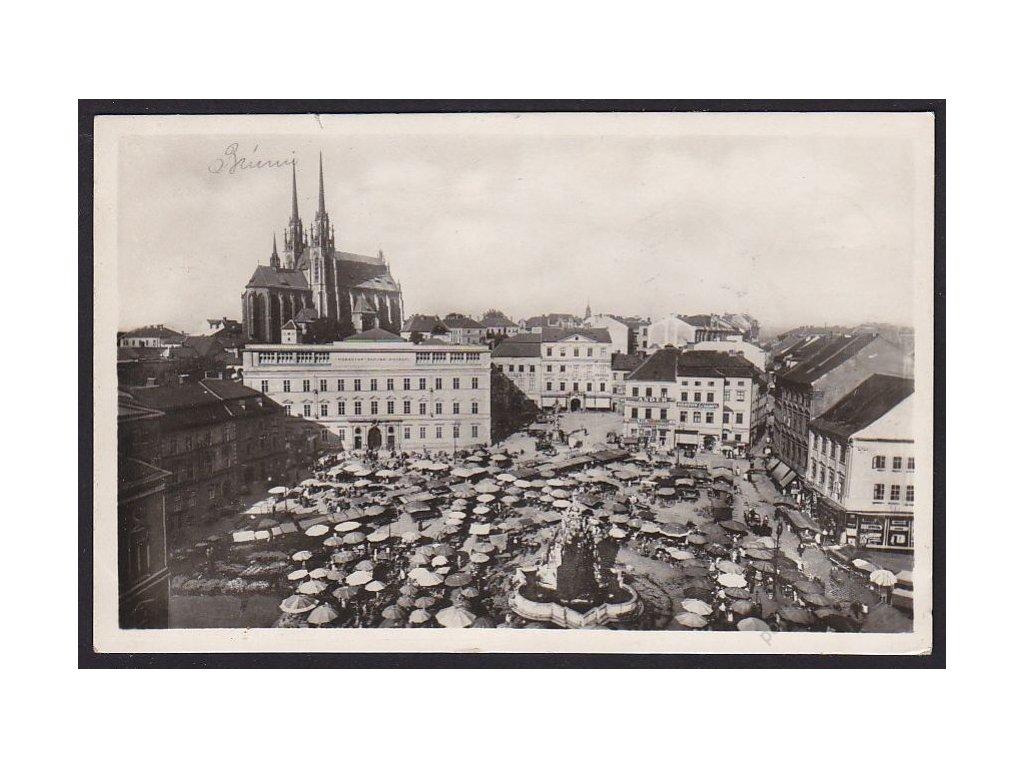 04 - Brno-město (Brünn), Zelený trh, Moravské muzeum, cca 1943