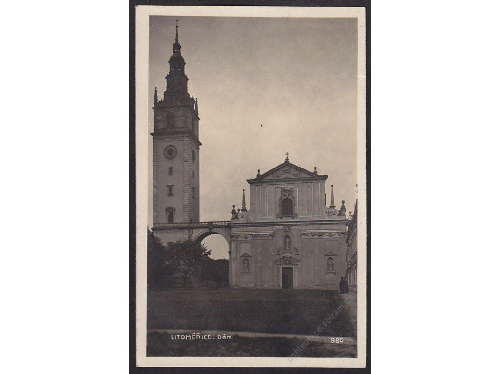 33 - Litoměřice, Dóm, foto Fon, cca 1935