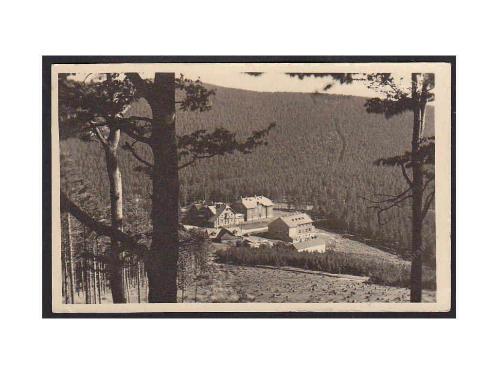 62 - Šumpersko, Jeseníky, Červenohorské sedlo, grafo Čuda, cca 1930