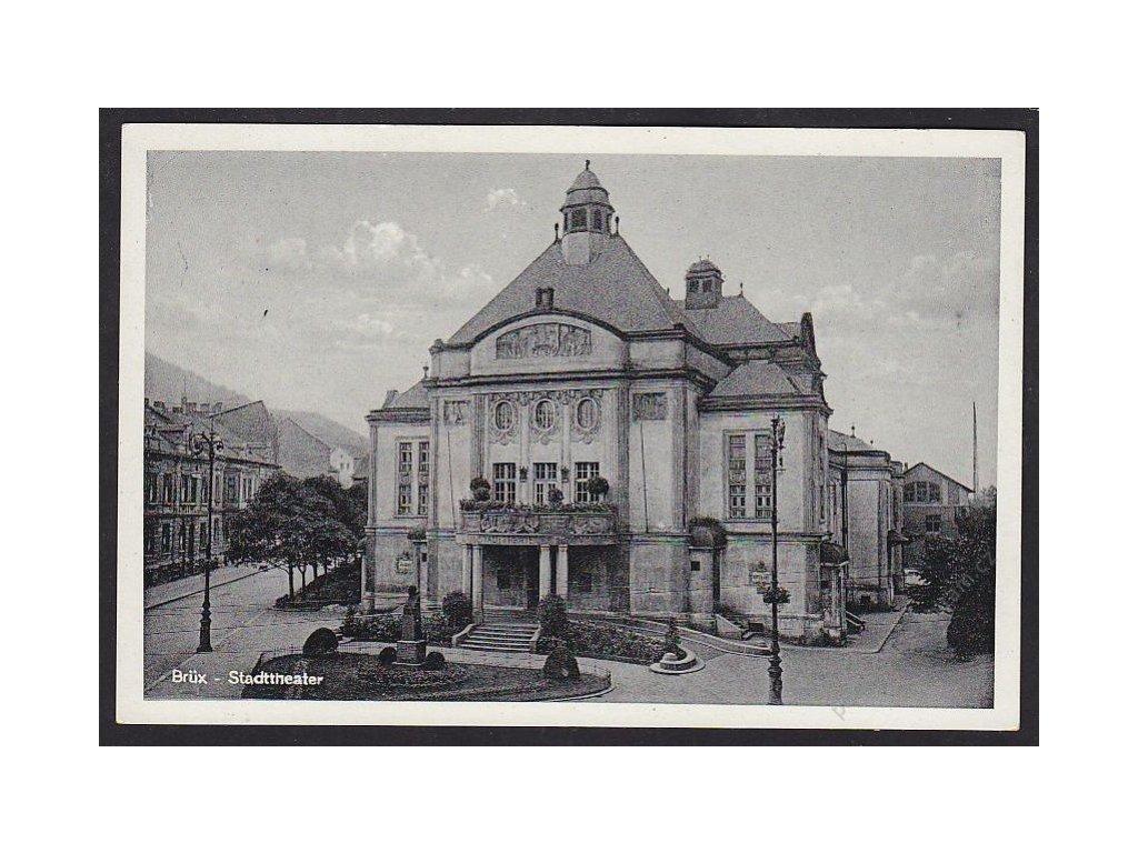 37 - Most (Brüx), městské divadlo (Stadttheater), cca 1930