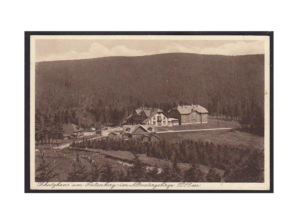 21 - Jesenicko, Červená hora (Horní Domašov), cca 1925
