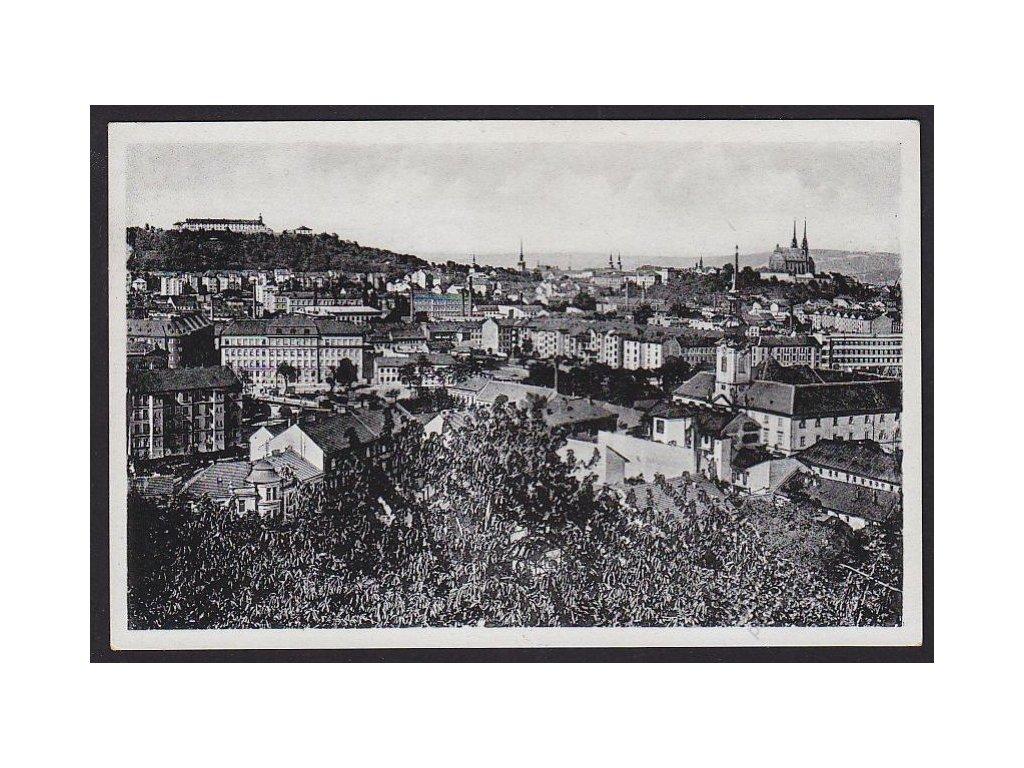 04 - Brno-město (Brünn), celkový pohled, cca 1940