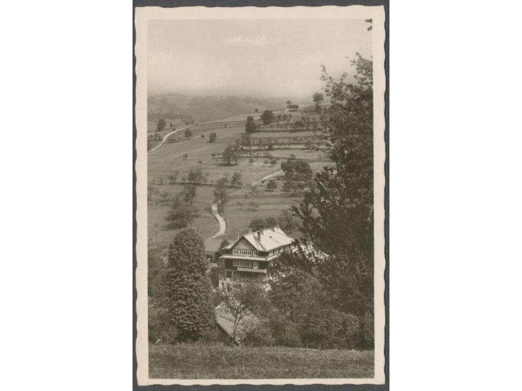 71 - Vsetínsko, Zděchov (Sdiechow), cca 1945