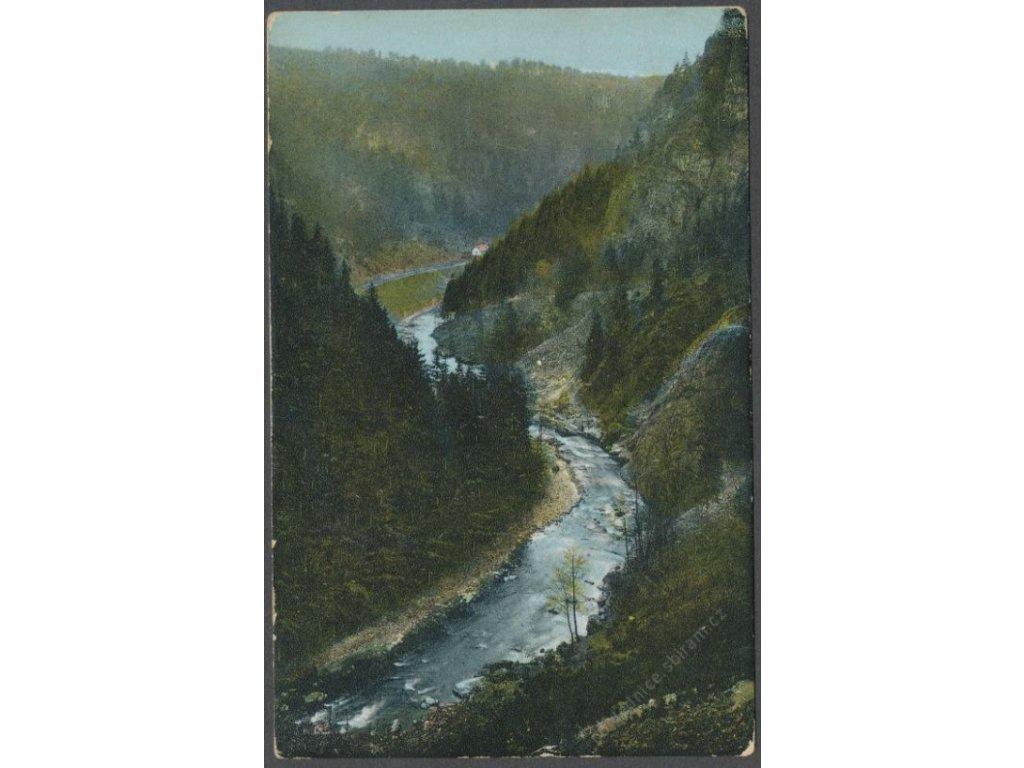 58 - Semilsko, Riegrova stezka, cca 1908