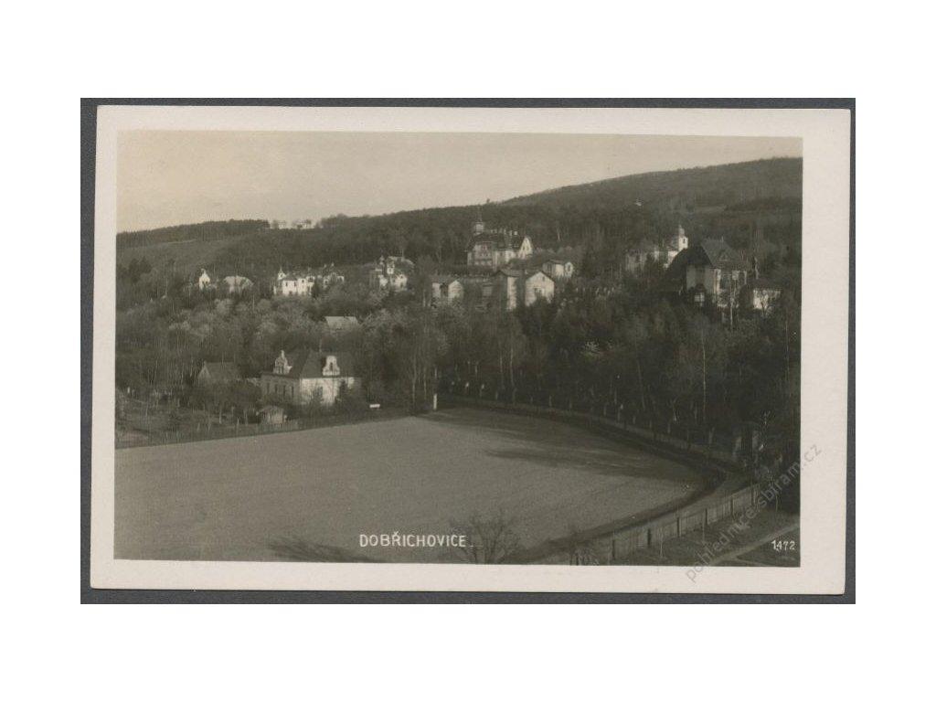 """51 - Praha-západ, Dobřichovice, fotografováno Kolárovou """"KOLOU"""" Foto Fon, cca 1933"""