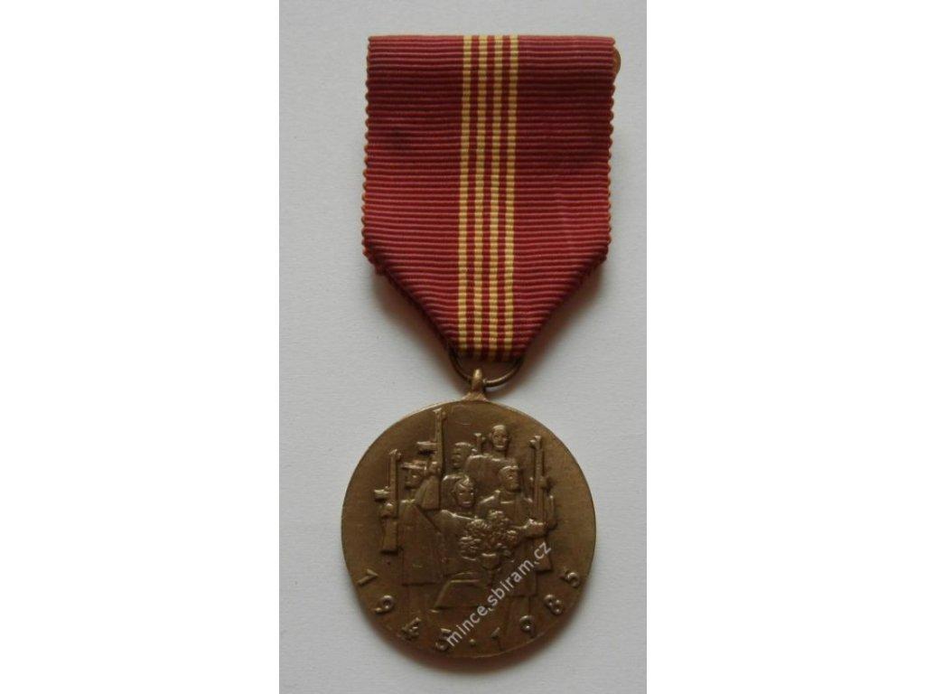 ČSSR, 40.výročí osvobození Rudou armádou, 1985