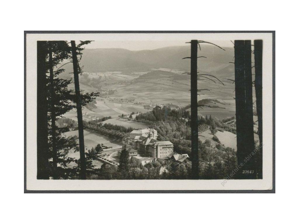 21 - Jesenicko, Priessnitzovy léčebné lázně, cca 1938