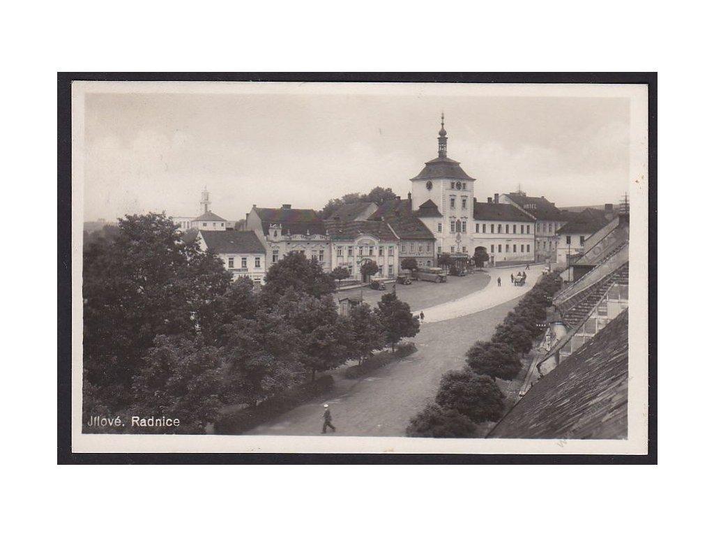 51 - Praha-západ, Jílové, radnice, cca 1940