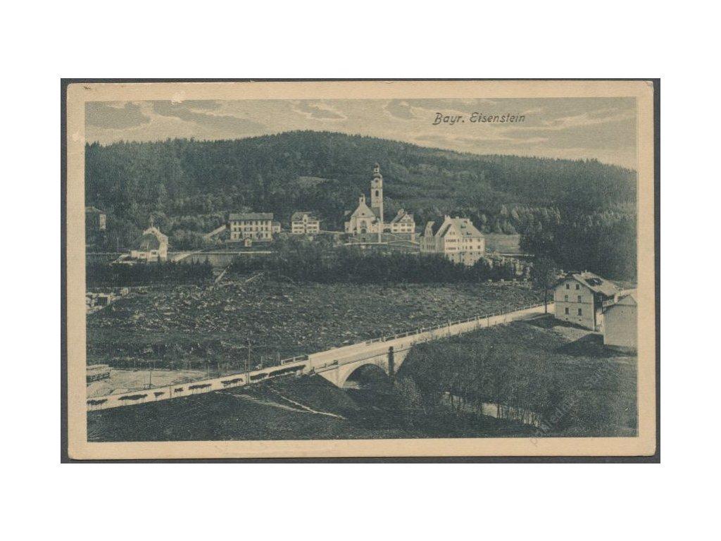 Germany, Niederbayern, Regen, Bayerisch Eisenstein, cca 1920