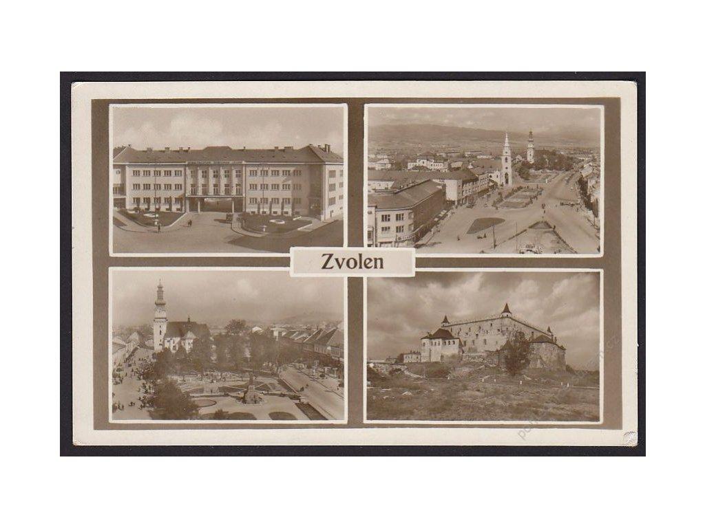 Slovensko, Zvolen, části města, cca 1930