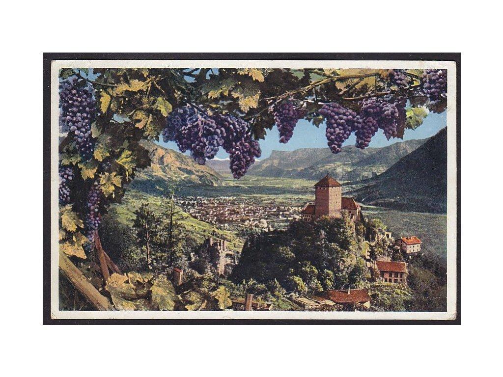 Italy, South Tyrol, Merano, Tyrol Castle, cca 1924