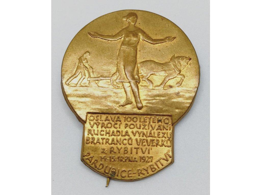 ČSR, 100 používání ruchadla, 1927