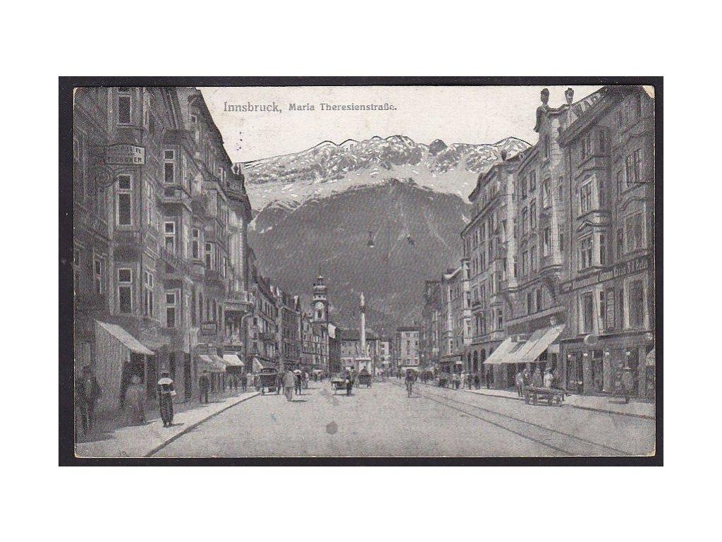Austria, Tyrol, Innsbruck, Maria Theresa street, cca 1920