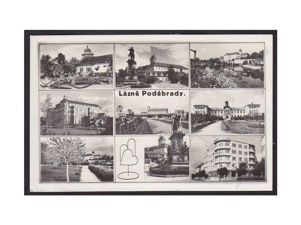 40 - Nybmursko, Lázně Poděbrady, grafo Čuda, cca 1940