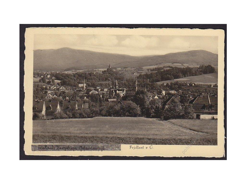 32 - Liberecko, Frýdlant v Čechách (Friedlan), cca 1946