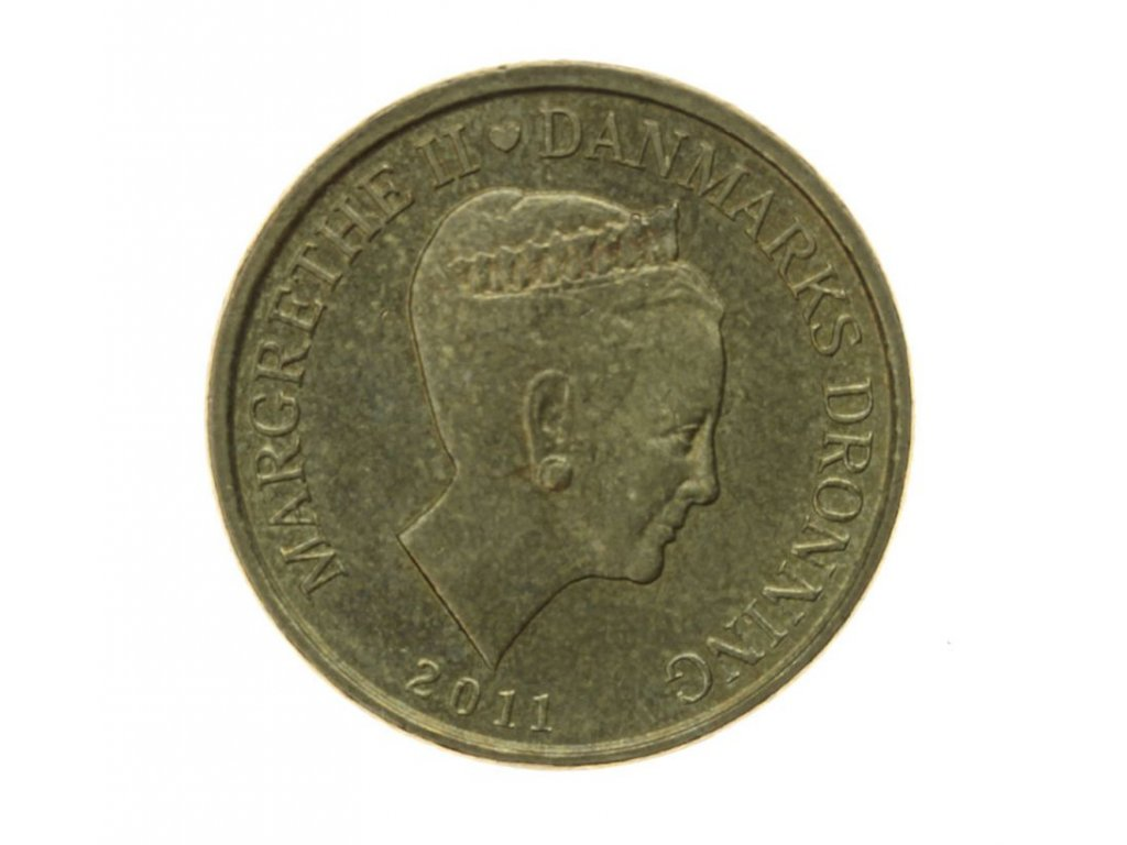 Dánsko, mince 20 Kor., 2011, stav 1/1