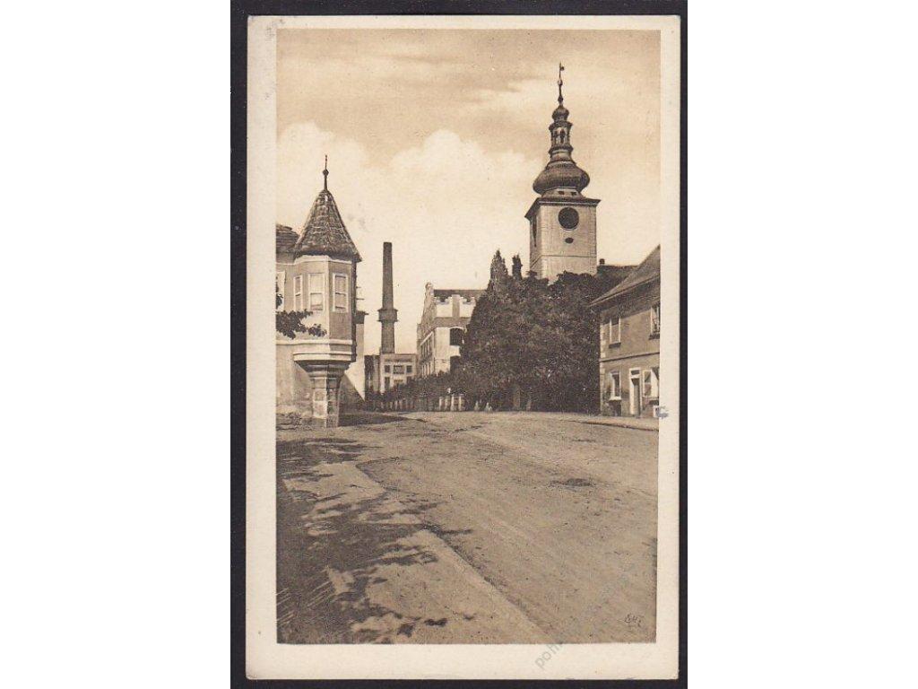 """36 - Mladoboleslavsko, Dobrovice, """"Národní výstava a slavnosti"""", cca 1926"""