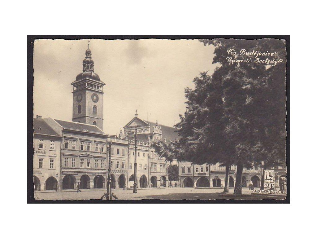 12 - České Budějovice, náměstí Svobody, cca 1920