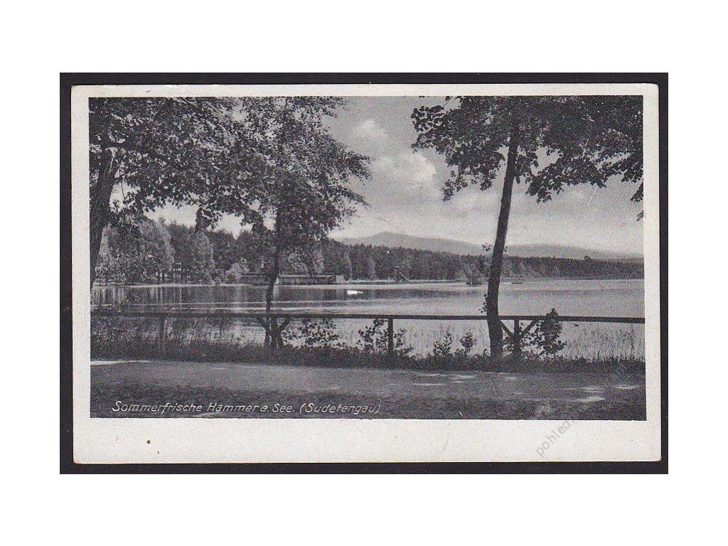 11 - Českolipsko, letovisko Hamr na Jezeře (Hammer am See), cca 1940