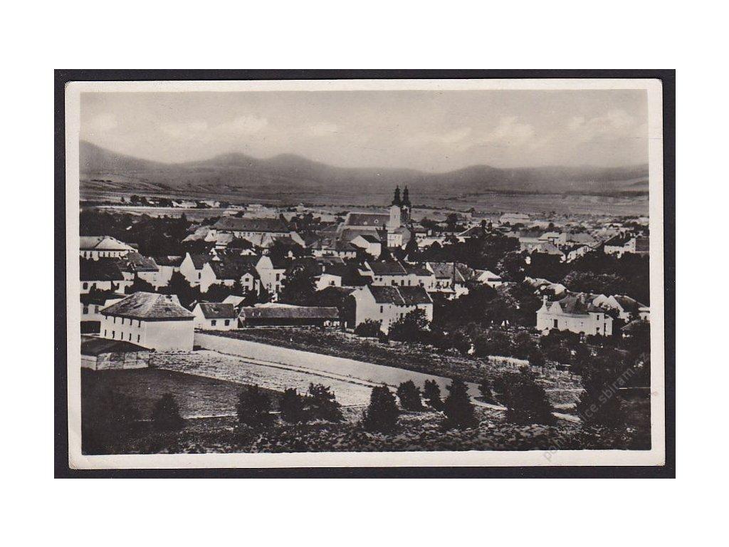 68 - Uherské Hradiště, celkový pohled, cca 1940