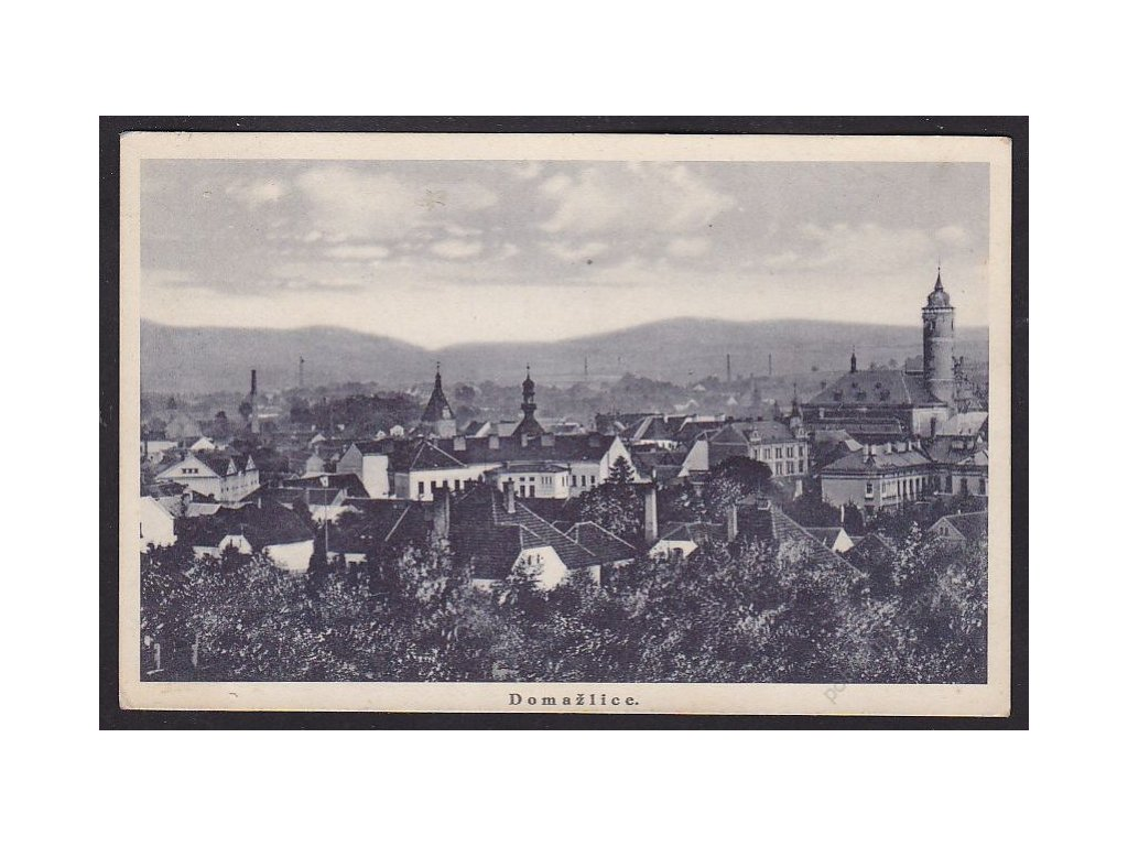 15 - Domažlice, cca 1938