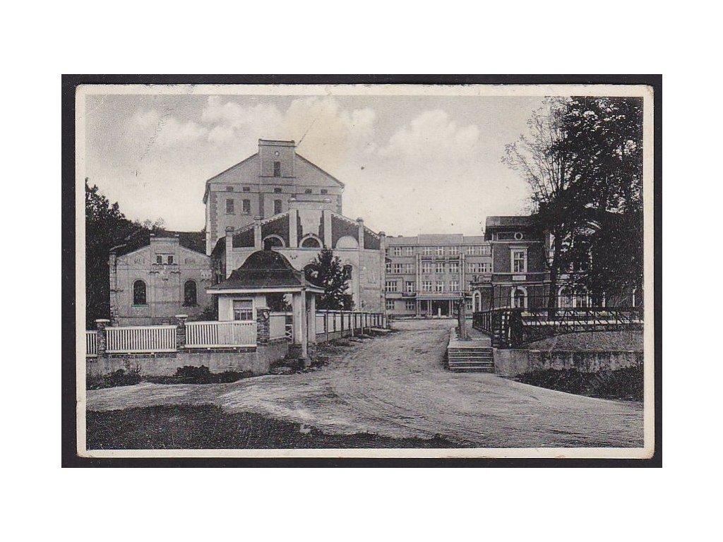 64 - Táborsko, Dražice nad Jizerou, p.p. Nové benátky (družstevní podniky), cca 1934