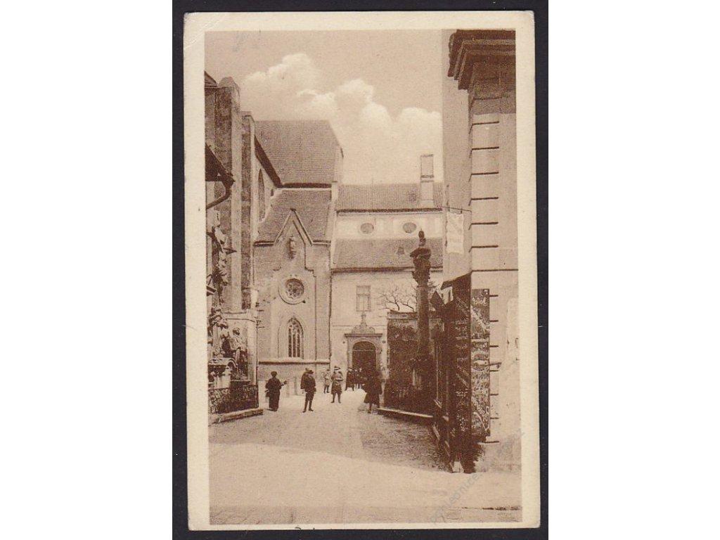 12 - České Budějovice, uvnitř města, cca 1915