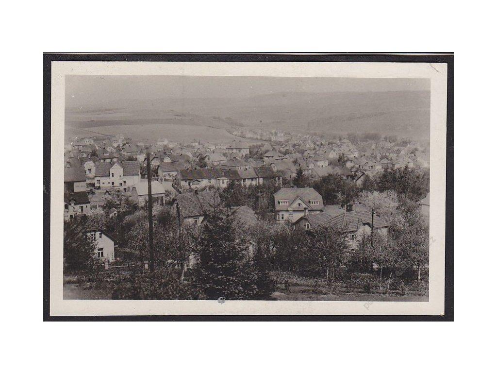 51 - Praha-západ, Řevnice, celkový pohled, cca 1930