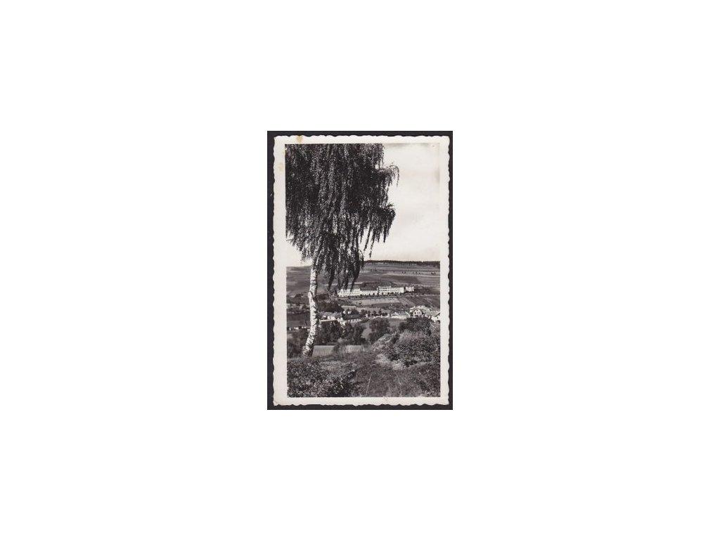75 - Žďársko, Velké Meziříčí, školy Světlá, cca 1935