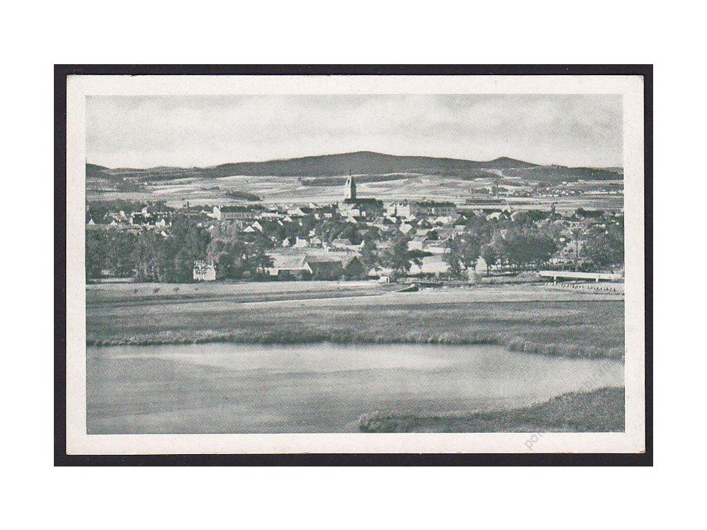 60 - Strakonicko, Vodňany (Wodnian), celkový pohled, cca 1930
