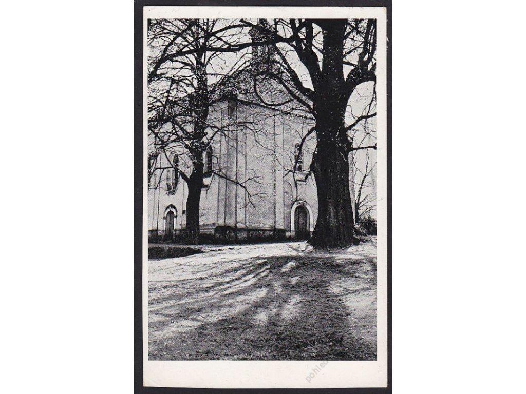 15 - Domažlice, kostelíček sv. Vavřince, cca 1935