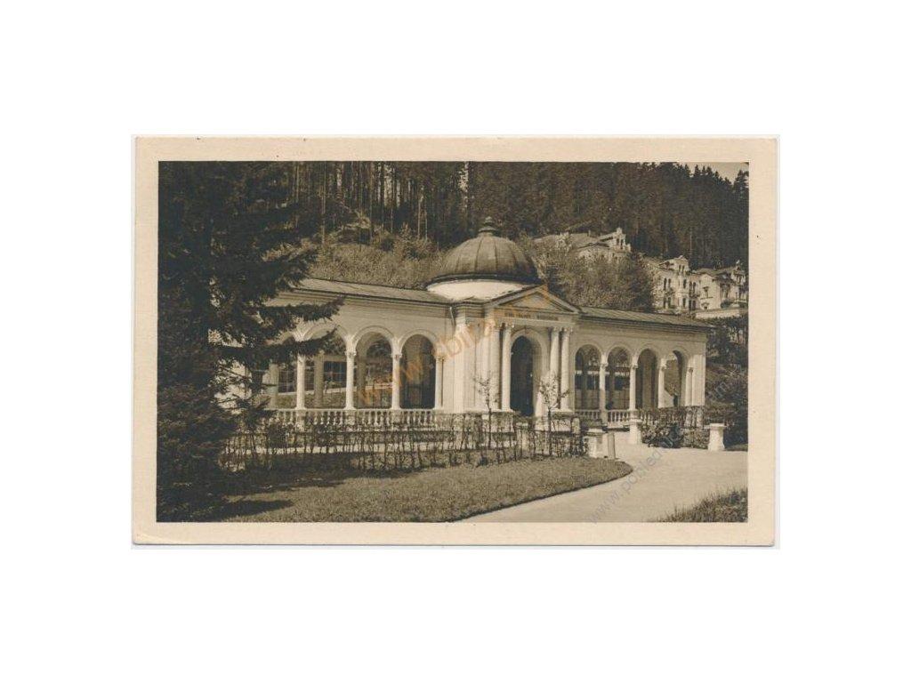 08 - Chebsko, Mariánské lázně, Lesní pramen, cca 1935