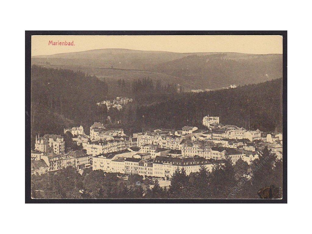 08 - Chebsko, Mariánské lázně (Marienbad), celkový pohled, cca 1908