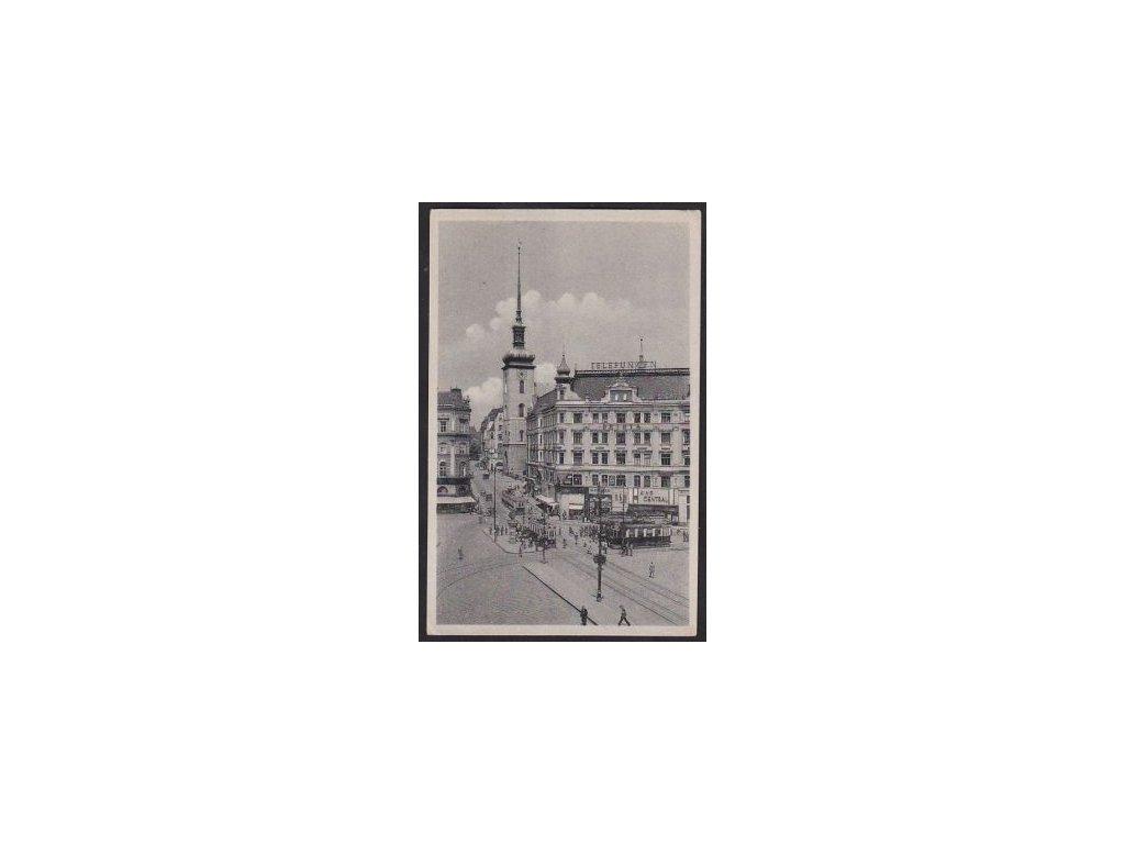 04 - Brno-město (Brünn), Kostelní ulice (Kirchengasse), cca 1935