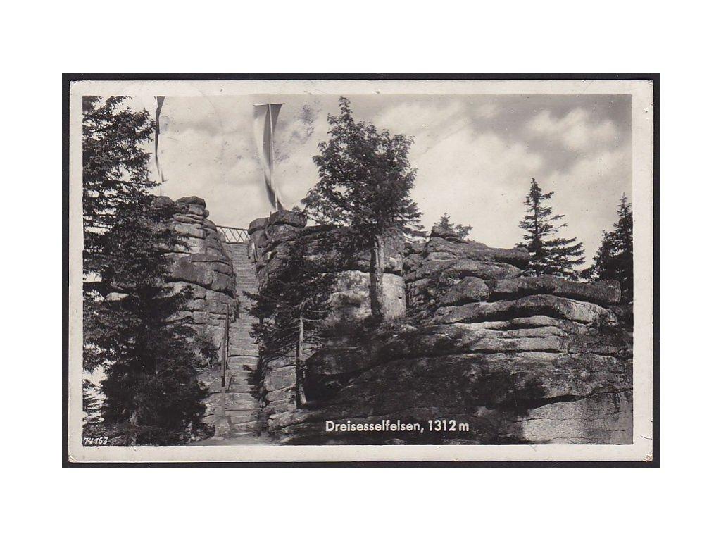 48 - Prachaticko, Šumava, Třístoličník (Dreisesselberg), cca 1937