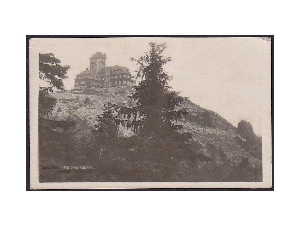 32 - Liberec (Reichenberg), Ještěd, cca 1935