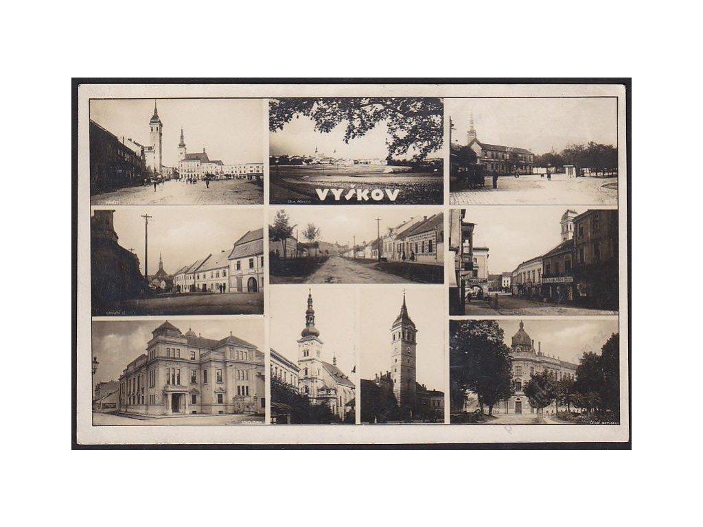 72 - Vyškov, části města, Bromografia, cca 1930