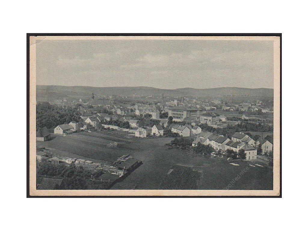59 - Sokolov (Falkenau an der Eger), celkový pohled, cca 1930