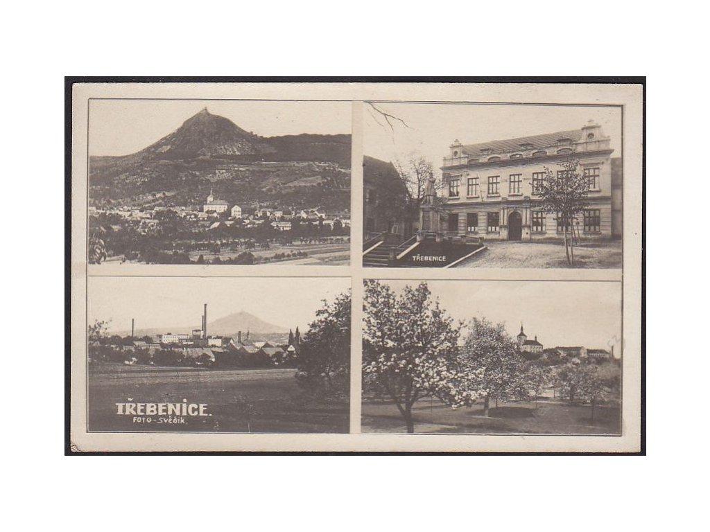 33 - Litoměřicko, Třebenice, části obce a okolí, cca 1925
