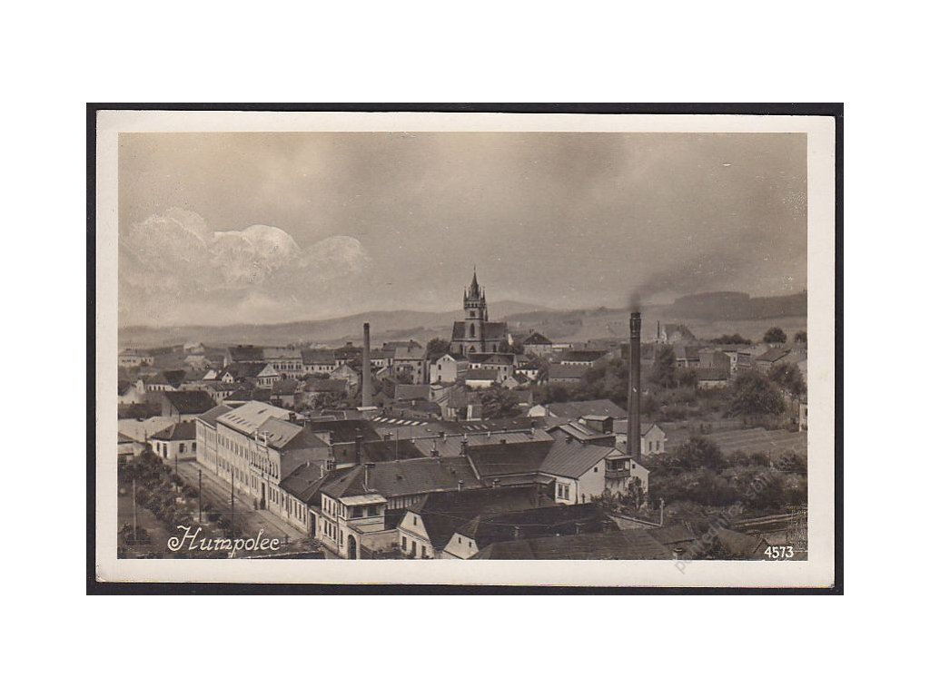 45 - Pelhřimovsko, Humpolec, pivovar, foto Fon, cca 1929