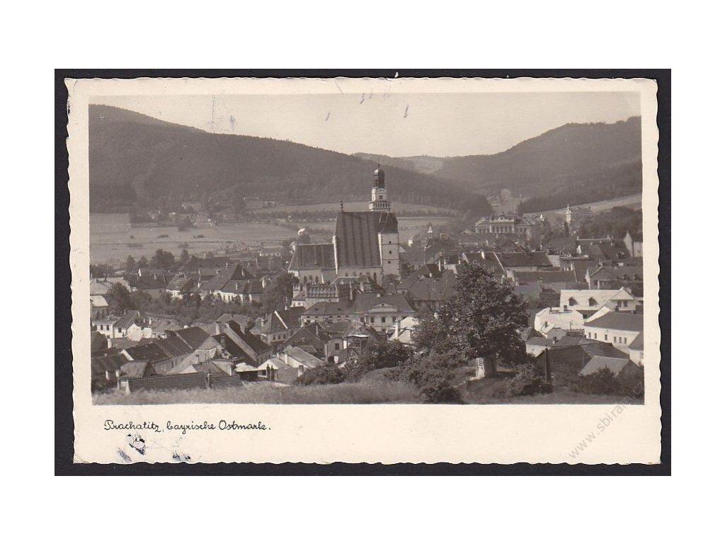 48 - Prachatice (Prachatitz, bayrische Ostmark), nakl. Fetter, cca 1945